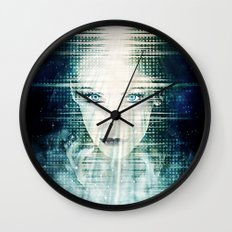 The Wizardess of Oz Wall Clock
