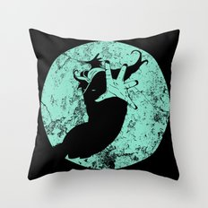Help Is Coming Throw Pillow