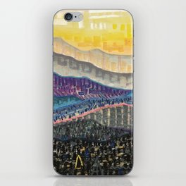 Orange Sunrise iPhone Skin