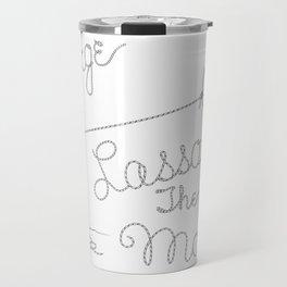 It's a Wonderful Life - George Lassos the Moon Travel Mug