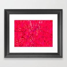 Rosey mismatch Framed Art Print