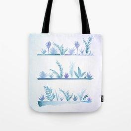 Tropical Succulent Garden Tote Bag