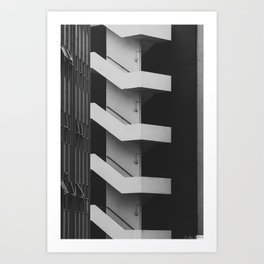 Emergency Escape Art Print