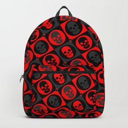 Skull Pattern Version 2 | Pop Art Backpack