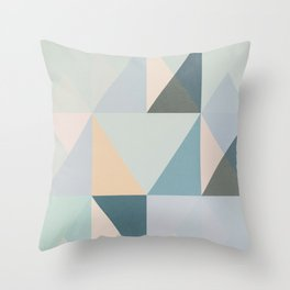 The Nordic Way XXXI Throw Pillow