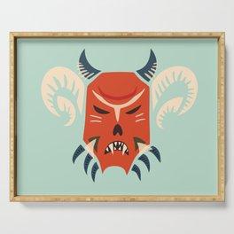 Kuker Evil Monster Mask Serving Tray