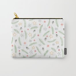 Festive minimalistic holiday pattern Carry-All Pouch