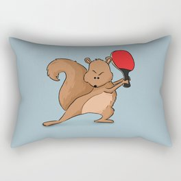 Talented Squirrel Rectangular Pillow