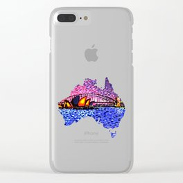 Sydney Harbour Clear iPhone Case