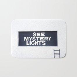 See Mystery Lights Marfa Bath Mat