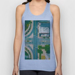 The City From Above (Color) Unisex Tank Top