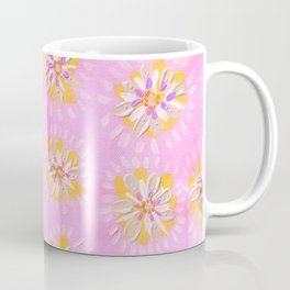 Tangerine Petal Rose Coffee Mug