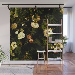 Floral Night III Wall Mural