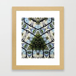 Natural Pattern No 1 Framed Art Print