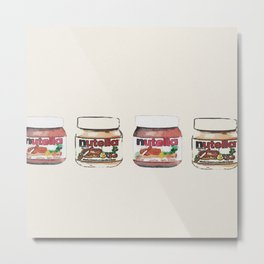 nutella-328 Metal Print