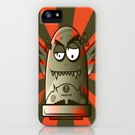Fault 45 01 (its not his fault) iPhone Case