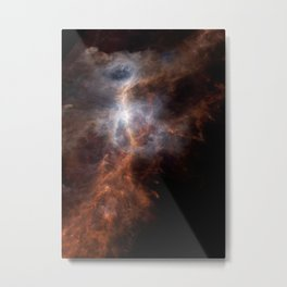 Ionized Carbon Atoms in Orion Metal Print