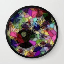 Gemstone Jungle Wall Clock