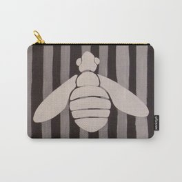 Halloween Bee with Stripes Carry-All Pouch