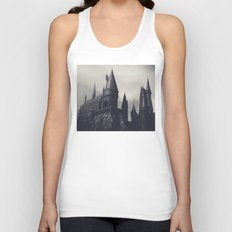 Ominous Castle Unisex Tank Top
