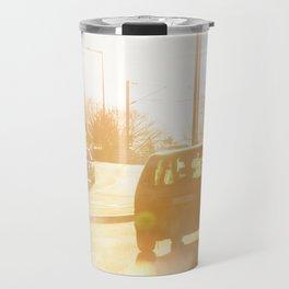 Vehicle gas exhaust Travel Mug