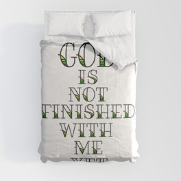 Unfinished Comforters