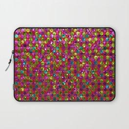 Polka Dot Sparkley Strass G266 Laptop Sleeve
