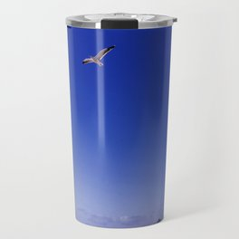 Bird and Beach in La Jolla Travel Mug