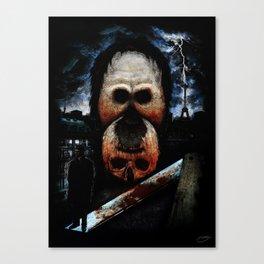 """""""The Murders in the Rue Morgue"""" - Edgar Allan Poe Series Canvas Print"""
