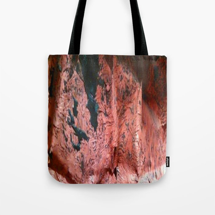 Copper Sheet Tote Bag