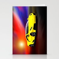 gta Stationery Cards featuring Spania GTA by JT Digital Art