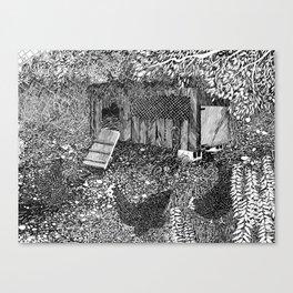 Hen House Canvas Print