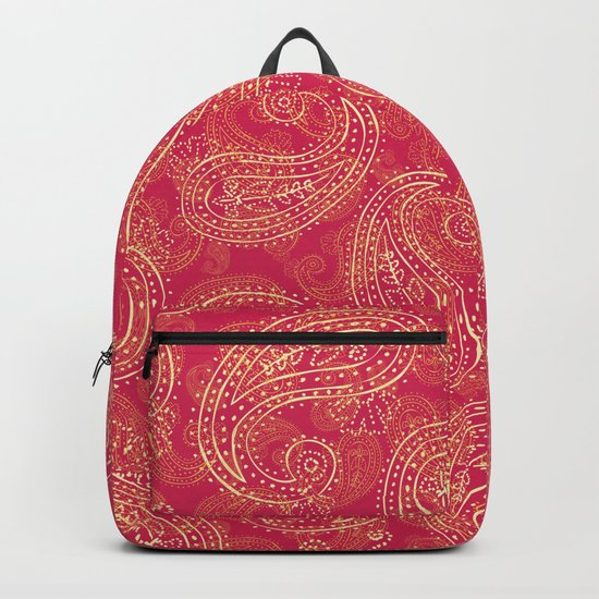 Crazy Paisley Backpack