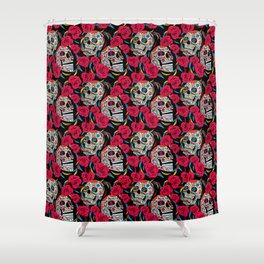 Sugar & Roses Shower Curtain