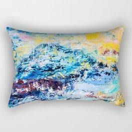 Visionary mountain Rectangular Pillow