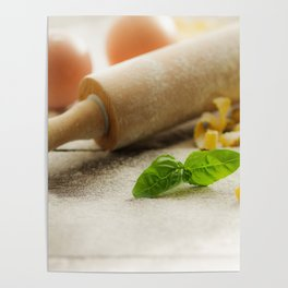 Pasta decoration Poster