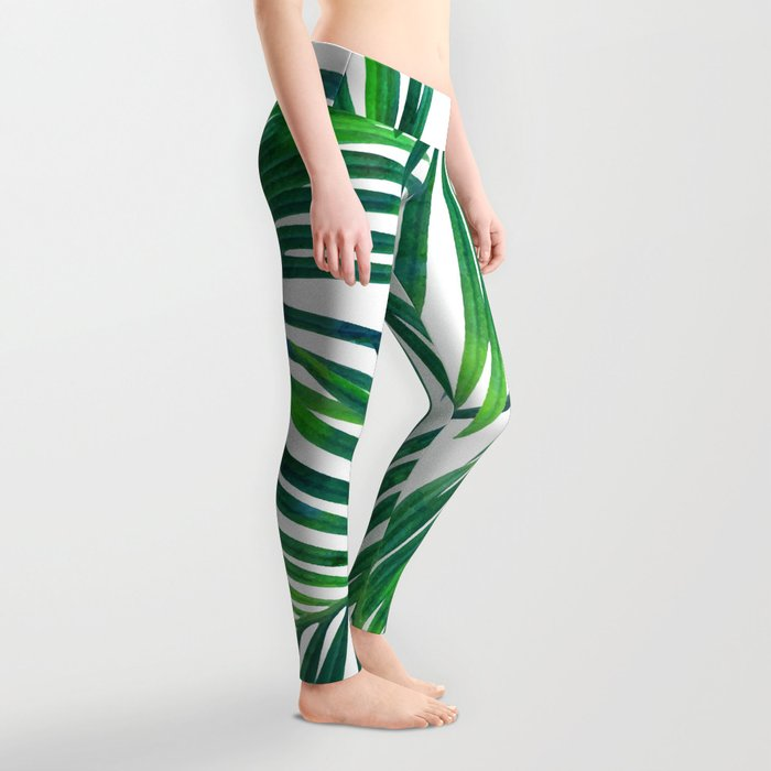 Palm Paradise #society6 #decor #buyart Leggings