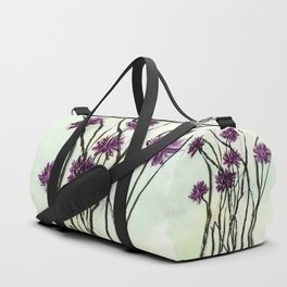 Invasive Knapweed Duffle Bag