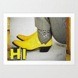 Yellow to You Art Print