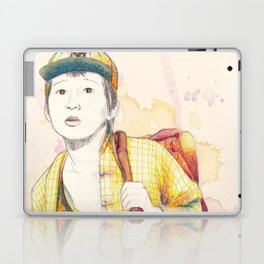 Short Round - Secondary character? Never! Laptop & iPad Skin