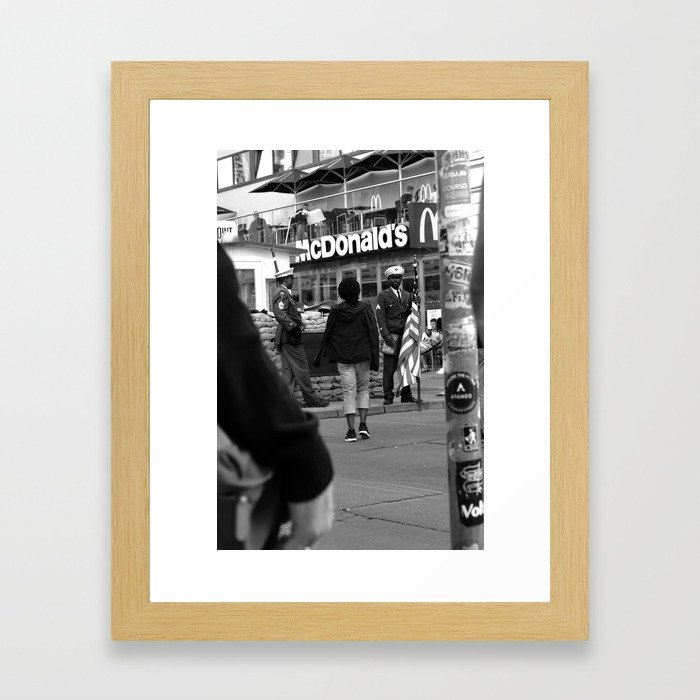 Mac Guarded Framed Art Print