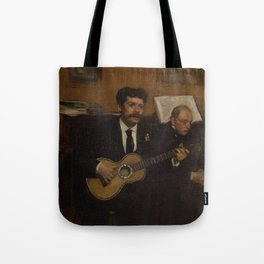 Lorenzo Pagans and Auguste de Gas Tote Bag