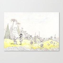 Grains of Fun Canvas Print