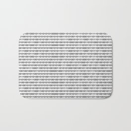 Binary Code Bath Mat