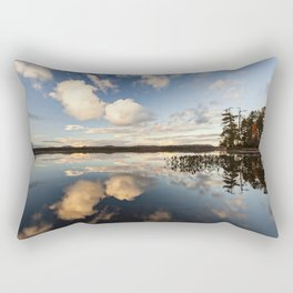 reflections on South Bay Rectangular Pillow