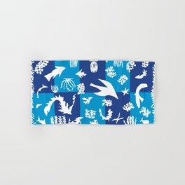 Matisse Cut Out Collage - Seascape Hand & Bath Towel