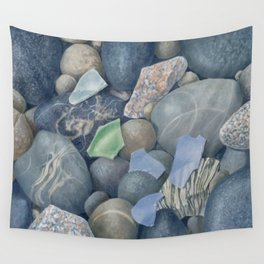 Sea Glass IV Wall Tapestry