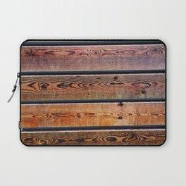 wood bar pattern Laptop Sleeve