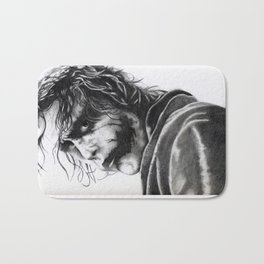 The joker - Heath Ledger Bath Mat