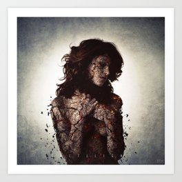 Salt | Light Art Print